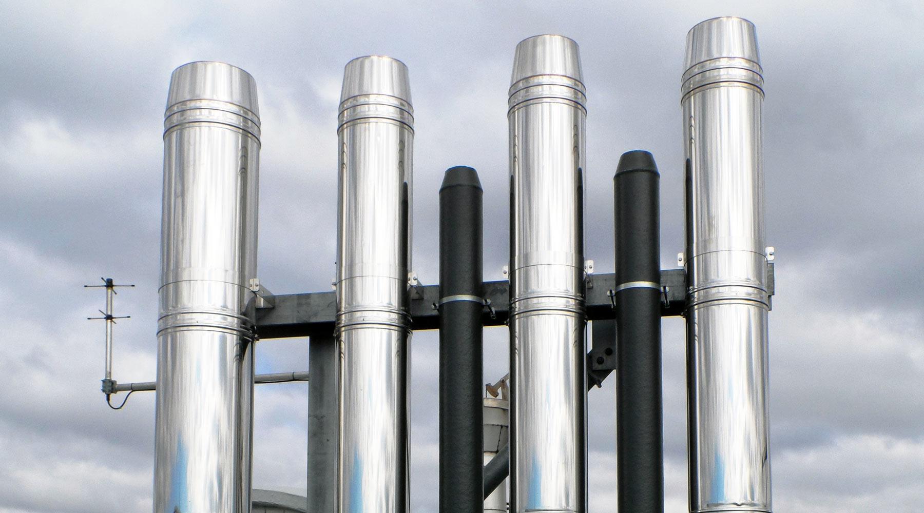Отработен въздух от производството, отработен въздух от процесите