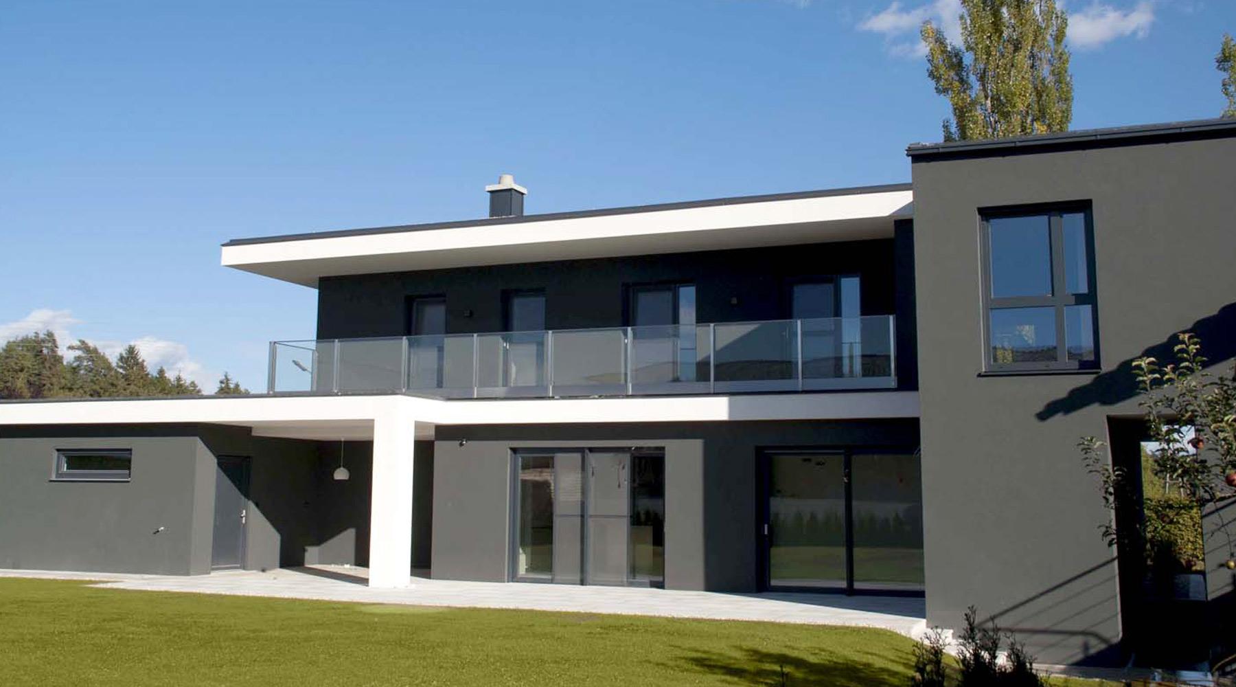 Schiedel Absolut: moderní rodinný dům.