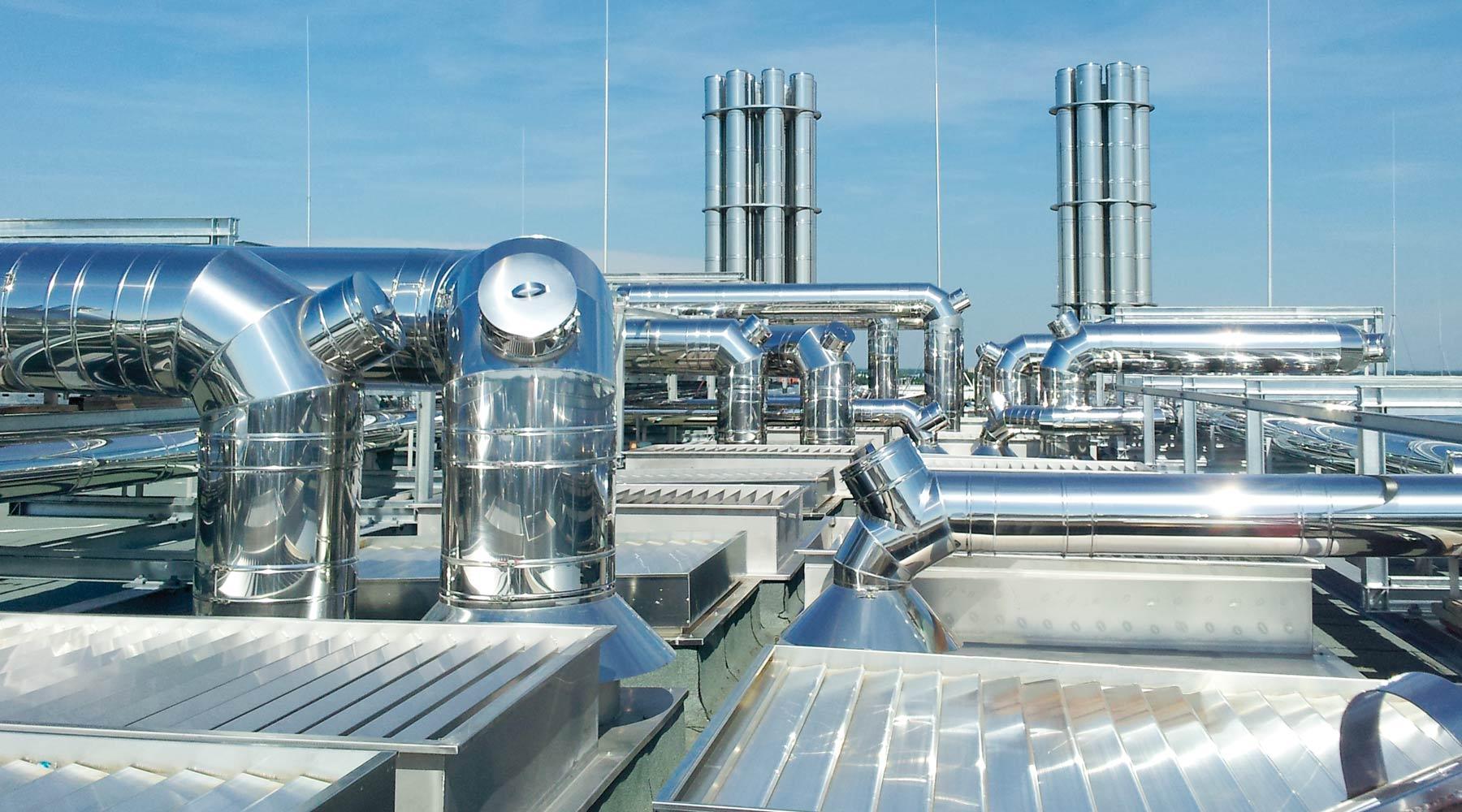 HP 5000: průmyslové komíny,