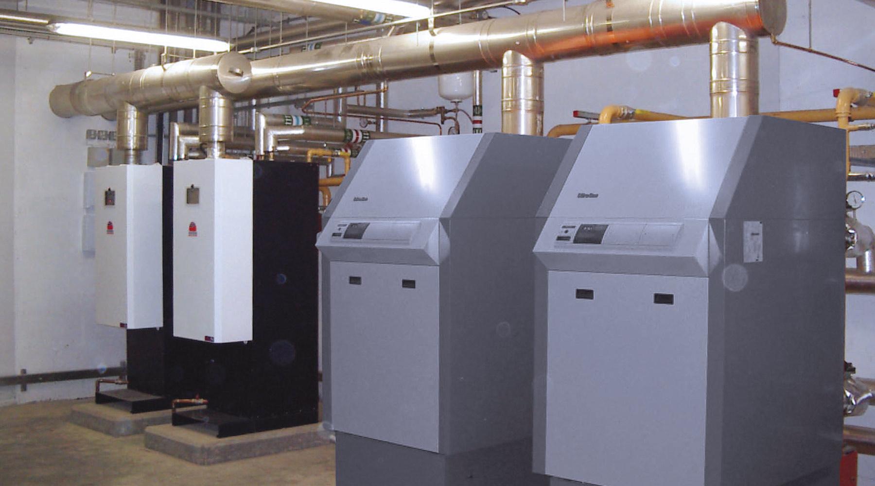 Vytápění: plynná paliva, kondenzační provoz