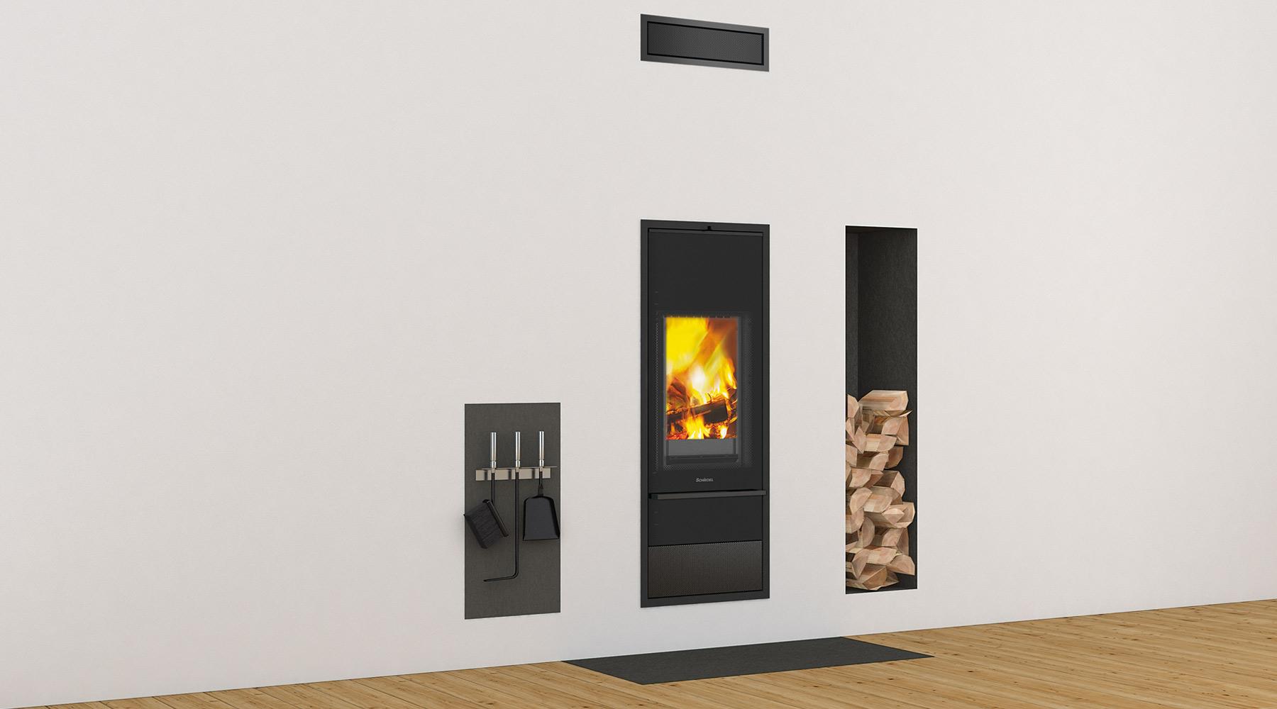 Kingfire Lineare: designová kamna.