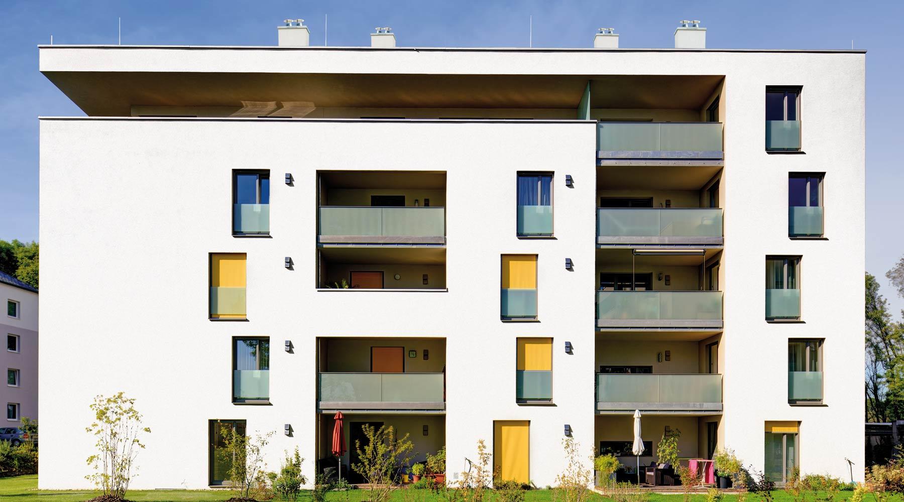 Multi: bytový dům s komíny.