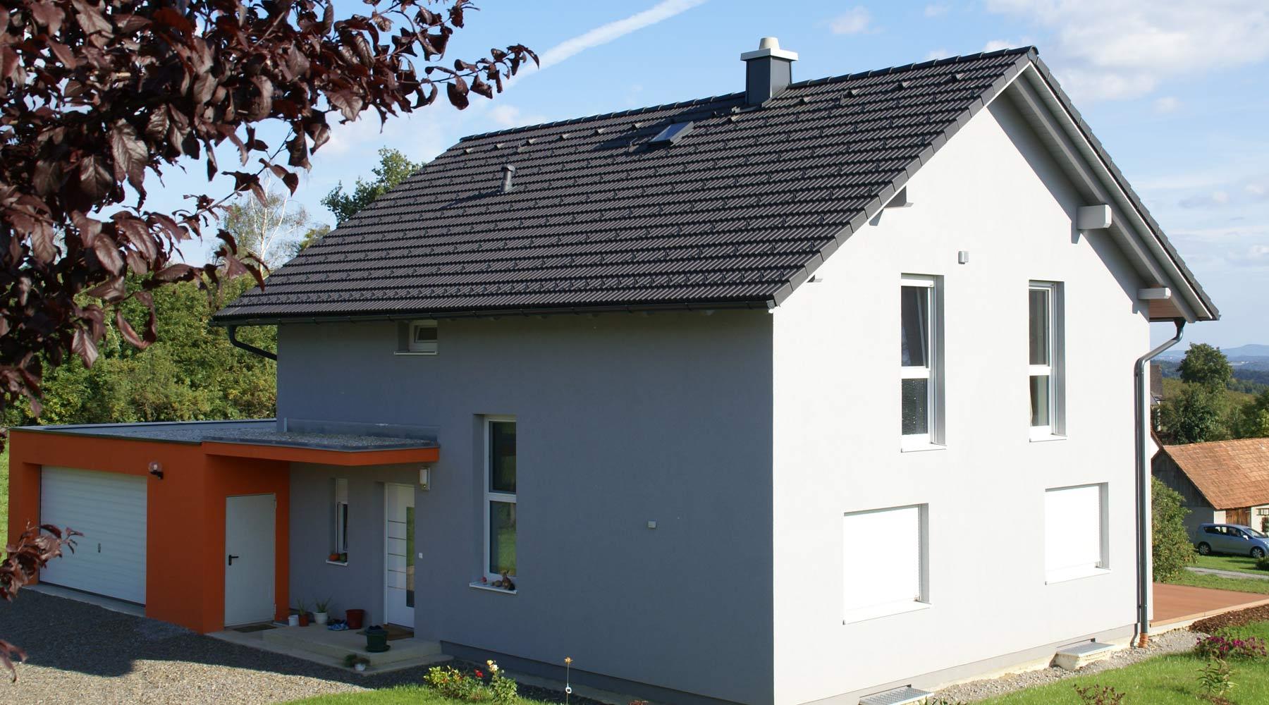 Rodinný dům s komínem