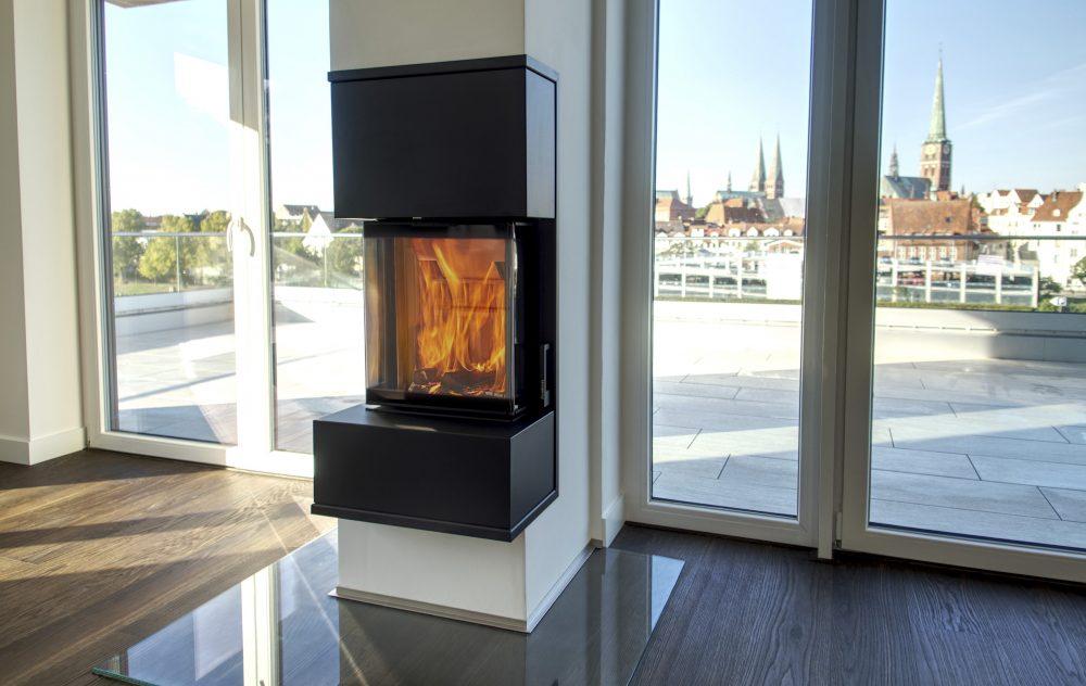 Kingfire Grande S: designová kamna.