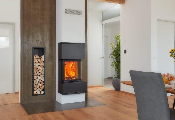 Kingfire Grande: designový krb