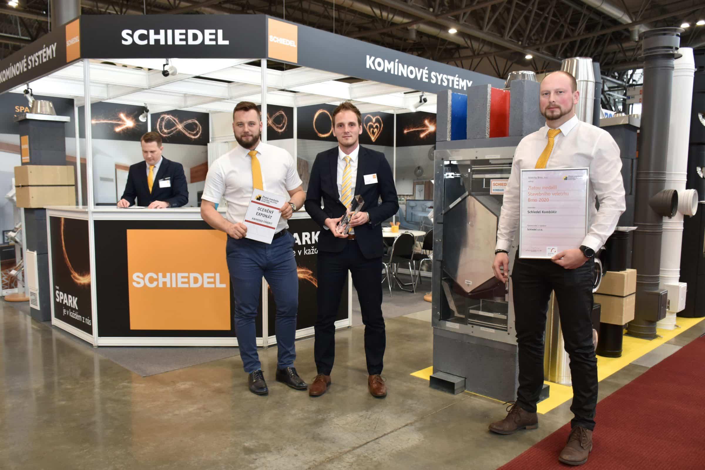 Stánek společnosti Schiedel