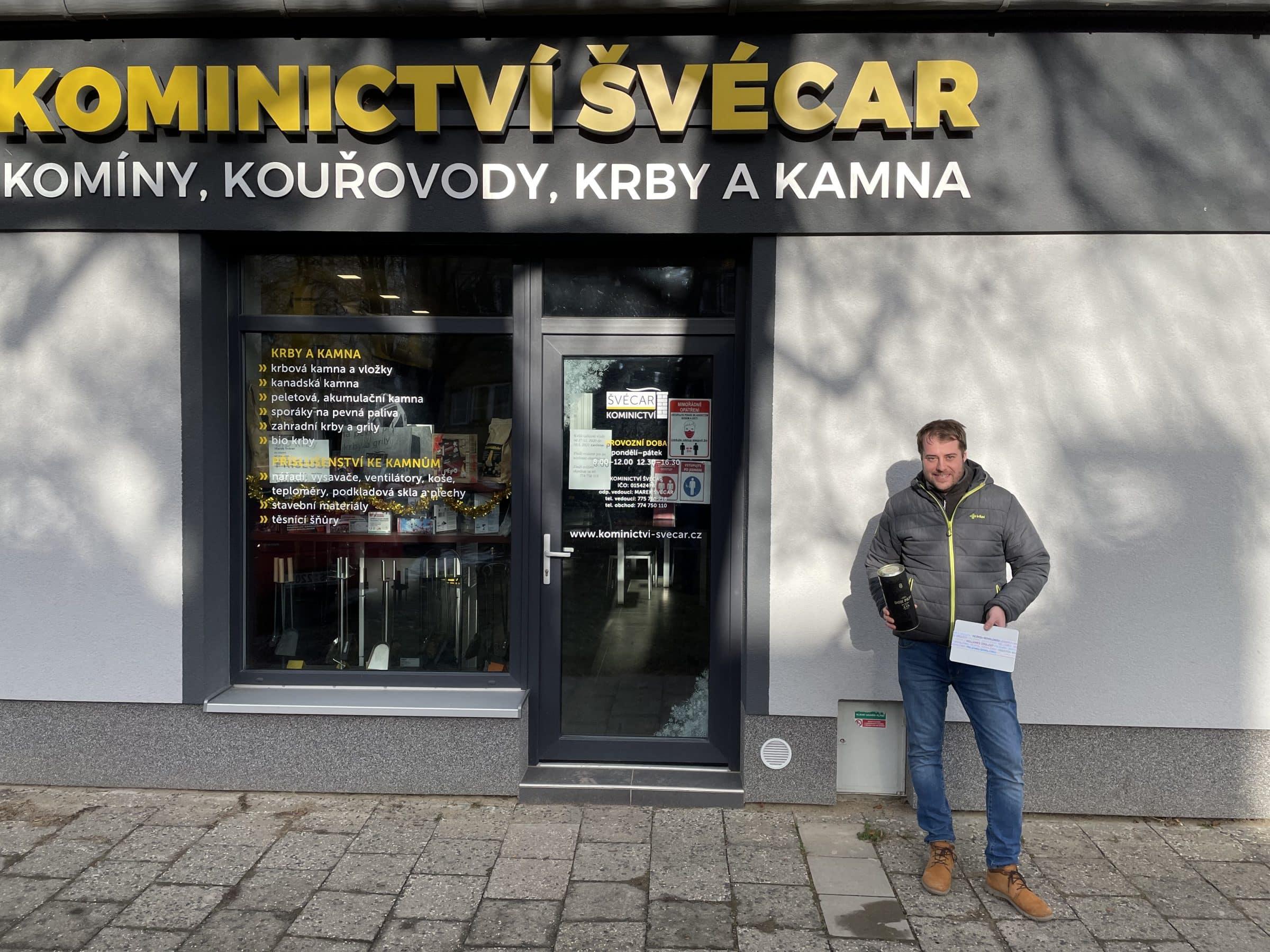 Marek Švécar kominík.
