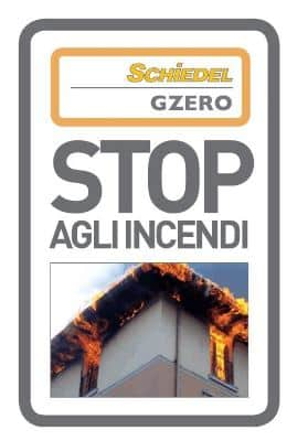 Stop incendi da tetto