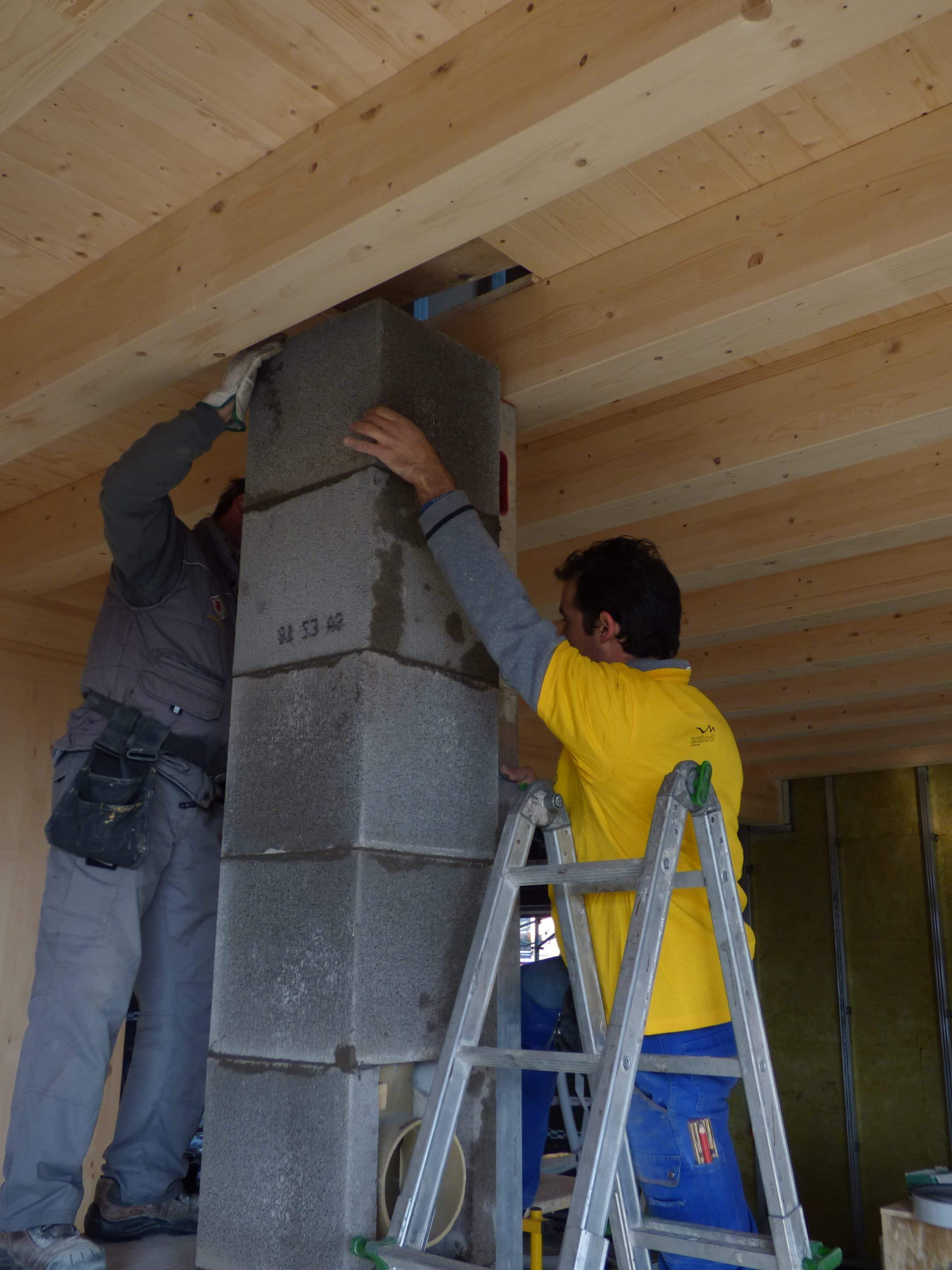 Gzero passaggio tetto in legno