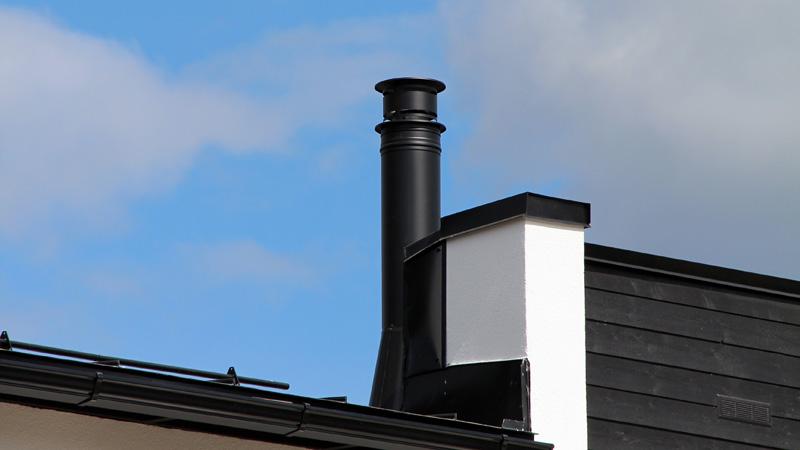 Nerūsējošā tērauda dūmvadu sistēmas