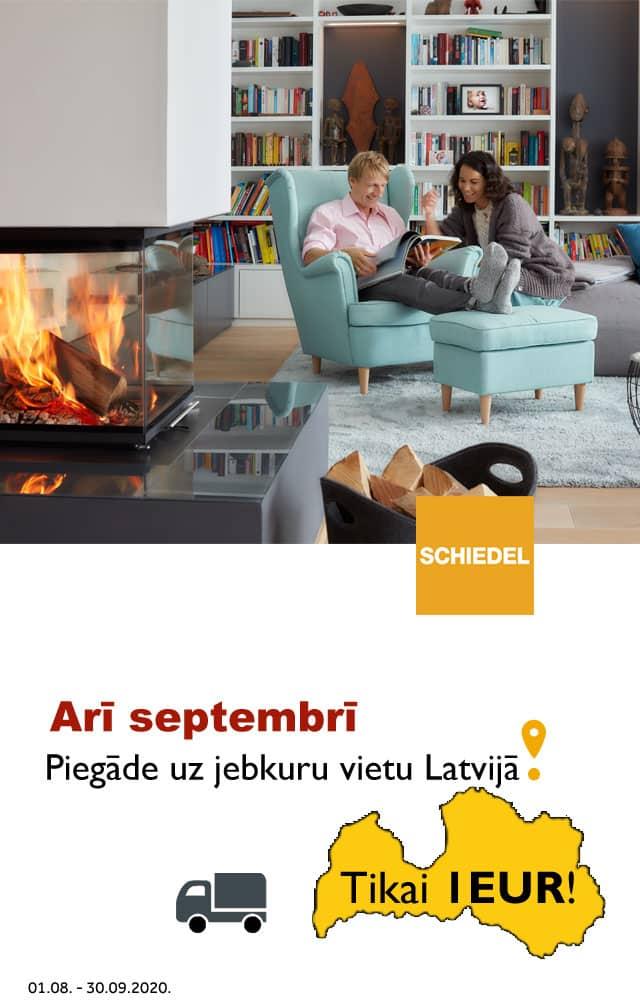 Septembra akcija Schiedel dūmvadiem