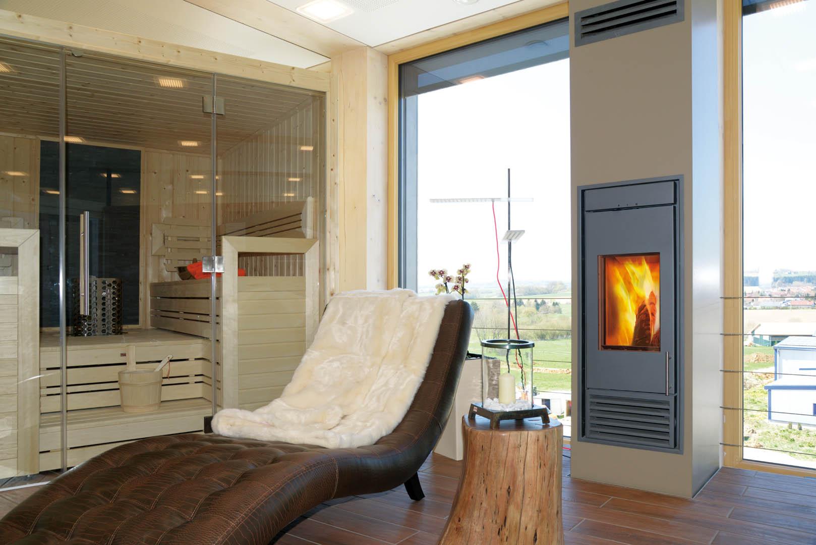 KINGFIRE CLASSICO S zaprojektowany w saunie