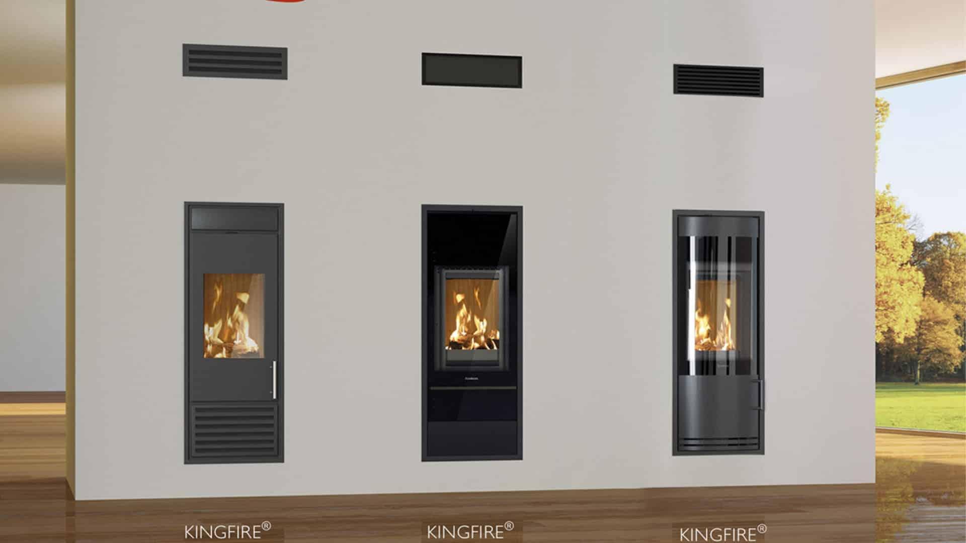 Ekologiczne piece Schiedel Kingfire