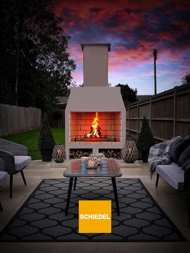 schiedel fireplace