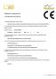 1. Deklarácia vlastností (certifikát) Schiedel MULTI
