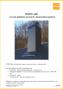 Montážny návod komínového plášťa Schiedel NORDIC