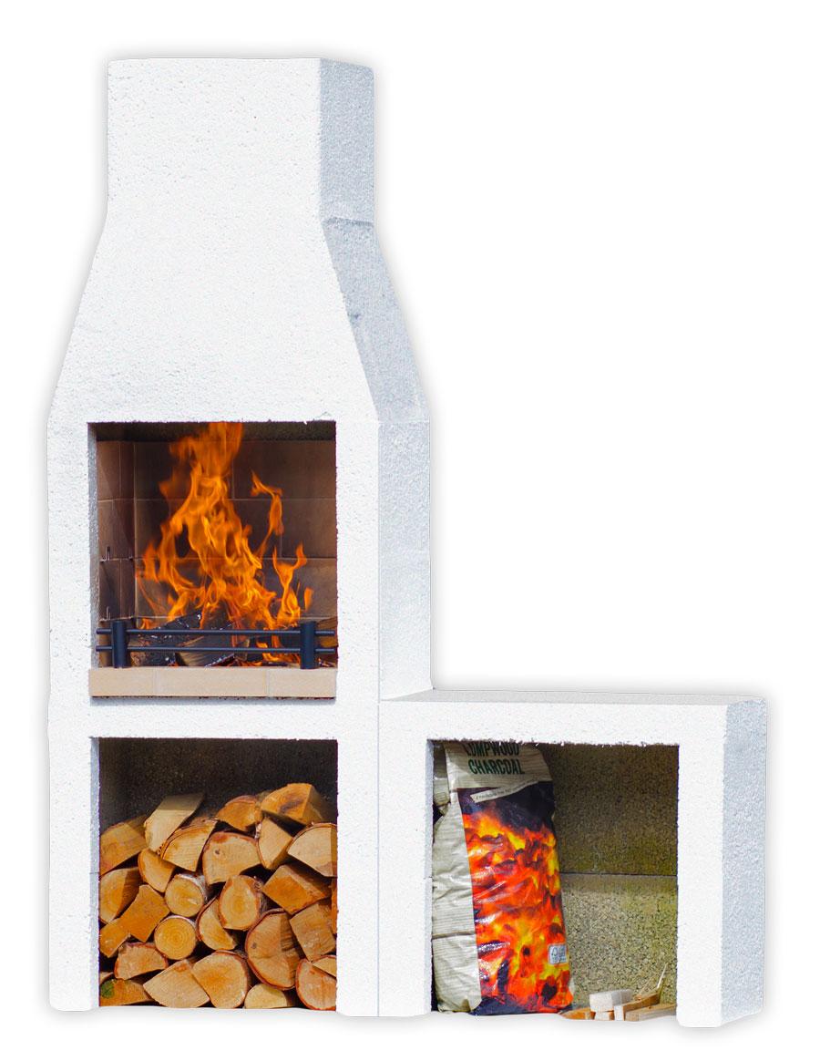 Schiedel Isokern Garden Fireplace