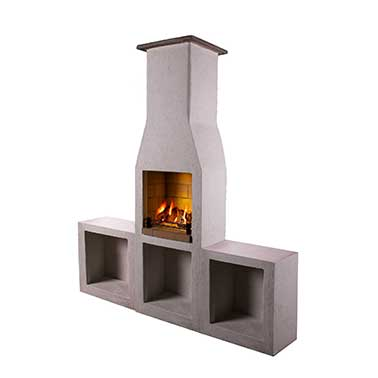 Outdoor Fireplace Barbecue – The Schiedel Isokern Garden Fireplace