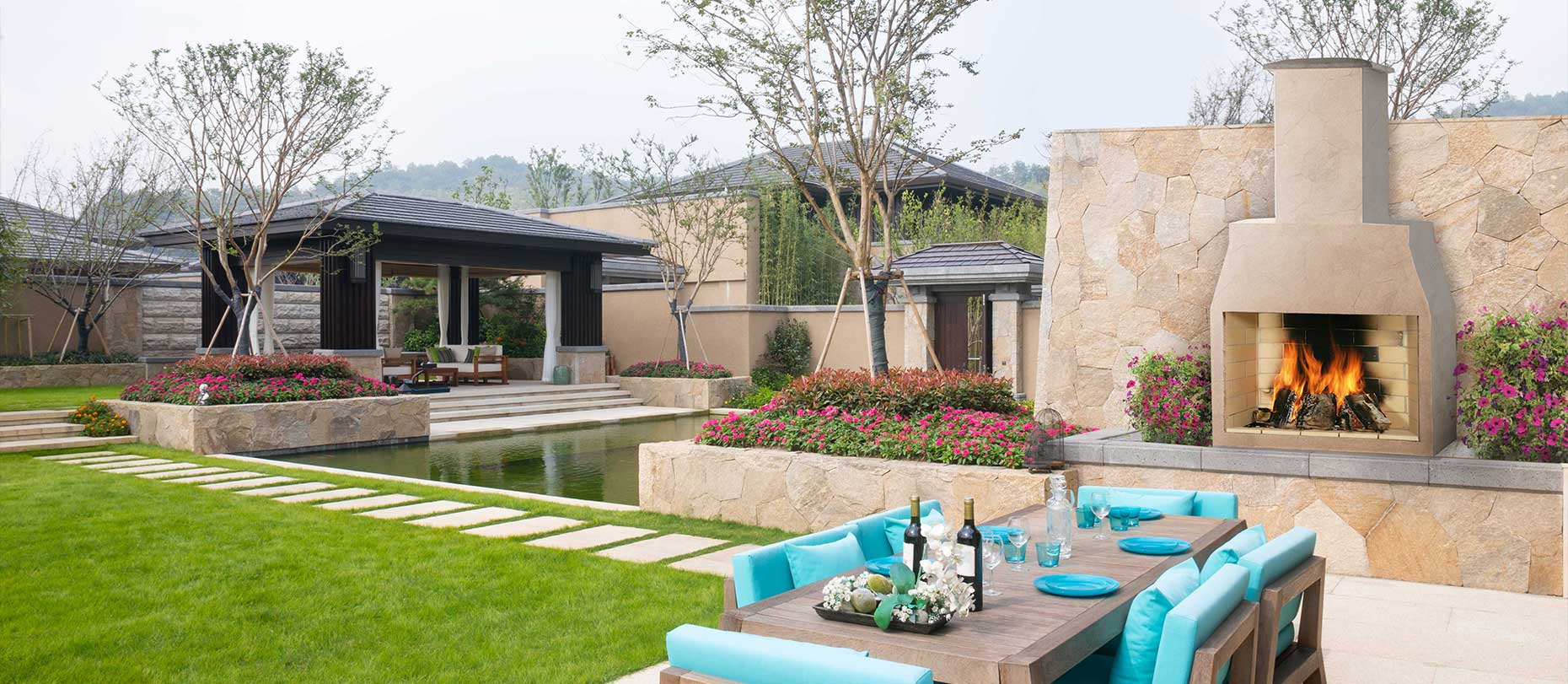 Free Garden Fireplace for the Best Garden Landscape Design ...