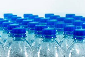 Even creating bottled water increases the level of carbon emissions.