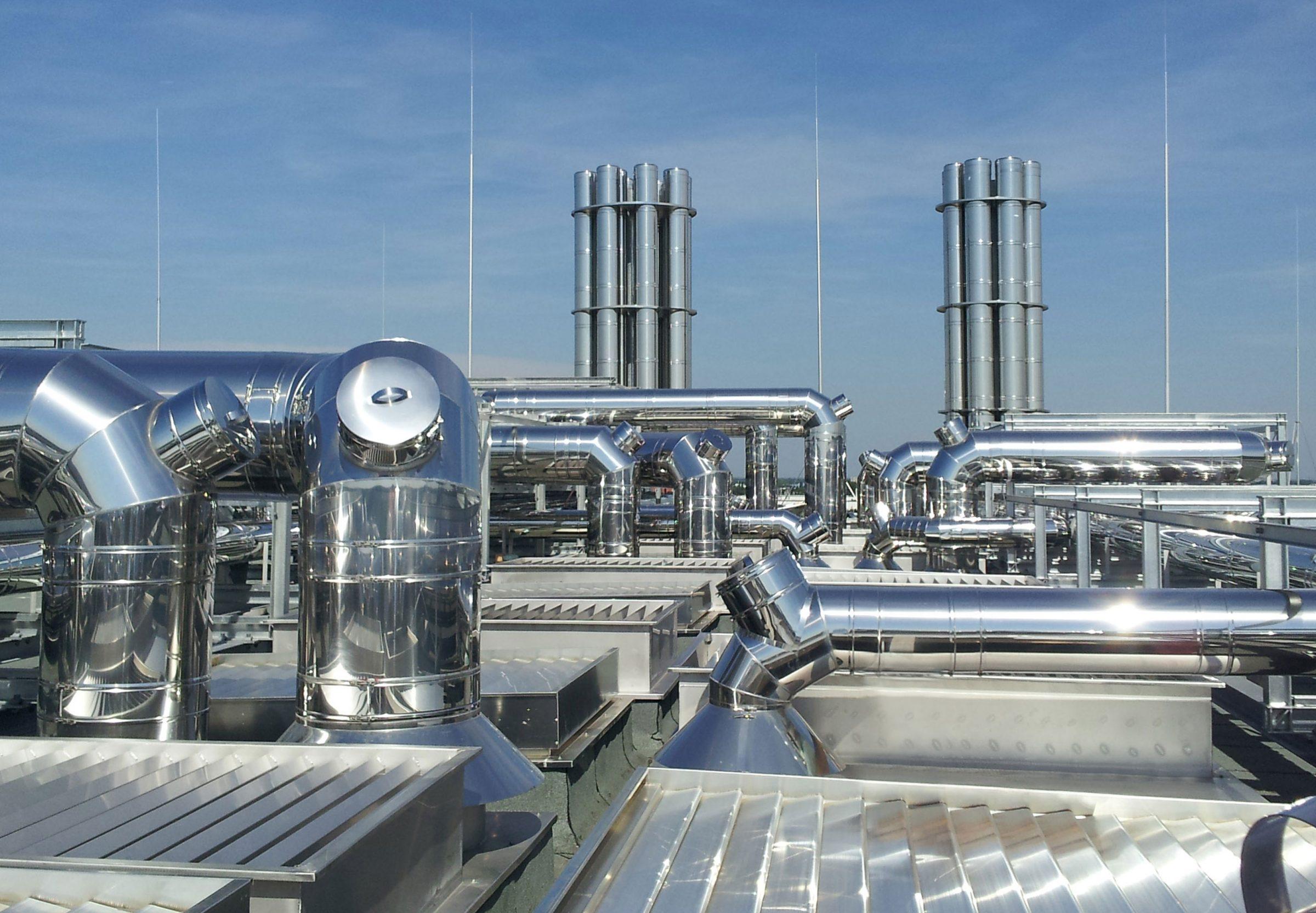 ICS 5000 flue system