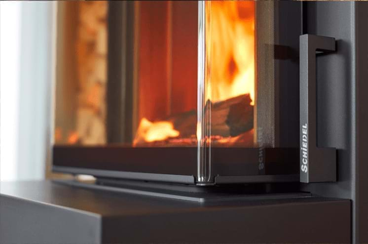 Modern day Schiedel fireplace installation