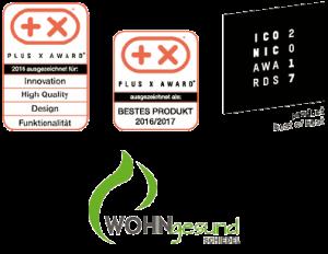 awards-zertifikate-rplus-x-iconic-wohngesund