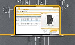 Laptop mit digitalen online Tool